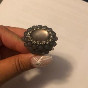 Chunky costume ring